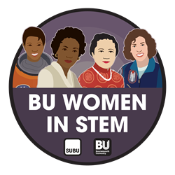 BU Women in STEM logo